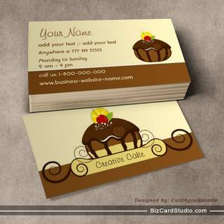 Creative Cake Business Card