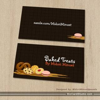 Baked Treats Business Card - Type C
