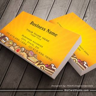 morning pastries ~ bc business cards