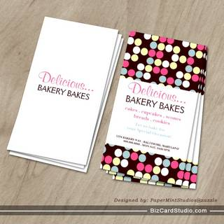 Business Card | Bakery Dots |dots2pi