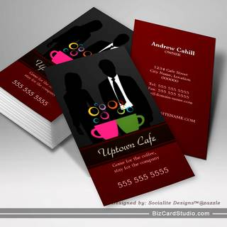 Cafe / Coffee Shop Business Cards