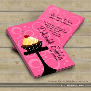 Cupcake business card gallery business card template bakery business card templates studio cupcake bakery business cards colourmoves flashek Images