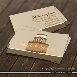 Bella Cake Business Card