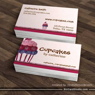 Bakery Business Card Templates Studio
