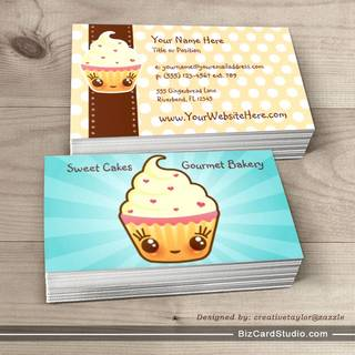 CuppyCake Business Card