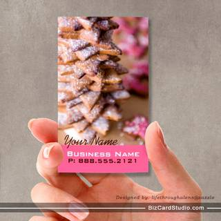 Gourmet Cookies Business Cards