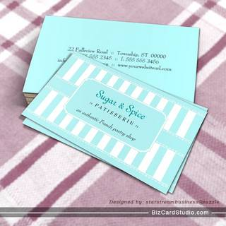 Pastel Patisserie Business Card