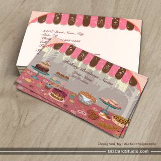 Bakery Business Shop Business Card