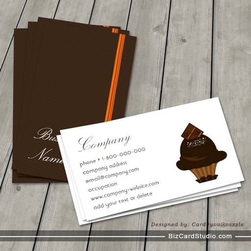 Chocolate boutique business card the chocolate boutique business card colourmoves Gallery