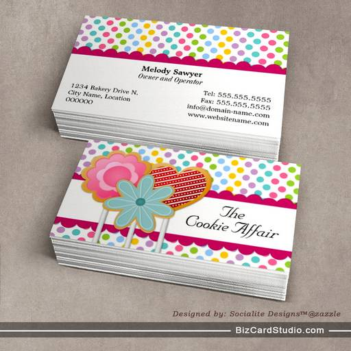 Business card templates studio whimsical cookie pops business cards whimsical cookie pops business cards colourmoves