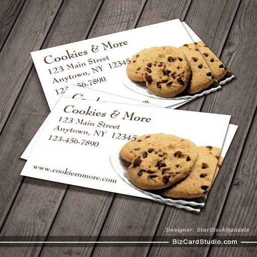 Cookies business card colourmoves