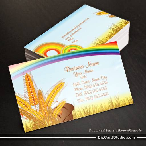 Bread & Bakery Business Business Card